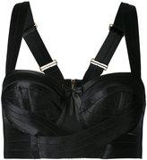Bordelle wrap bra - women - Polyamide/Spandex/Elastane - S