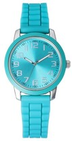 Xhilaration Women's Silicone Strap Watch - Green