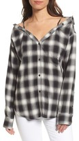 Bailey 44 Women's Terre Check Off The Shoulder Tunic