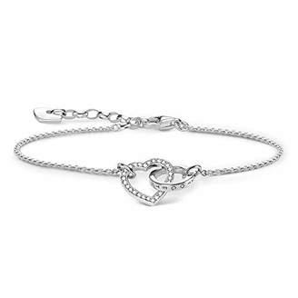 Thomas Sabo Ladies Bracelet Together Heart A1649-051-14-L19v
