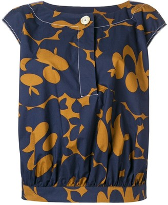 Marni Floral Print Top