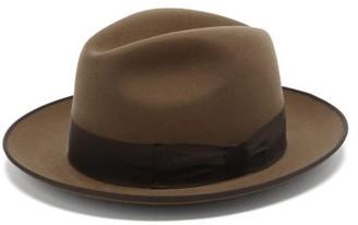 Lock & Co Hatters Albany Escorial-wool Trilby - Beige