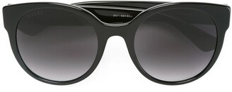 Gucci Cat Eye Wayfarer Sunglasses