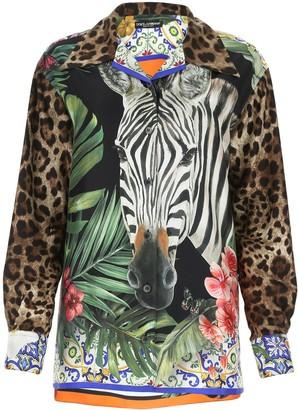 Dolce & Gabbana Safari Print Shirt