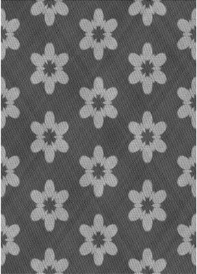 Rojas East Urban Home Floral Wool Gray Area Rug East Urban Home Rug Size: Rectangle 2' x 4'