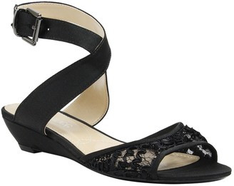 J. Renee Belden Wedge Sandal - Wide Width Available