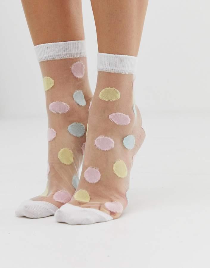 3a7cb4539 Sheer Socks - ShopStyle Australia