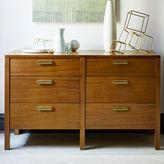 west elm Jones 6-Drawer Dresser - Acorn