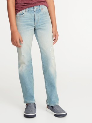 Old Navy Built-In Flex Straight Jeans for Boys