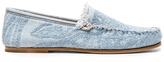 Acne Studios Jackson Denim Loafers in Blue.