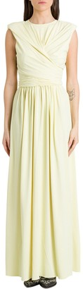 Isabel Marant Gathered Maxi Dress