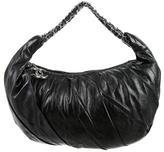 Chanel Twisted Leather Hobo