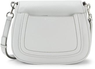 Marc Jacobs Pebbled Leather Saddle Crossbody Bag