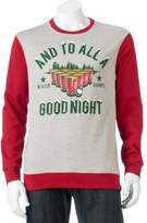 "Men's ""And To All A Good Night"" Fleece Pullover"