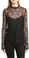 Theory Women's Lace Top With Tank