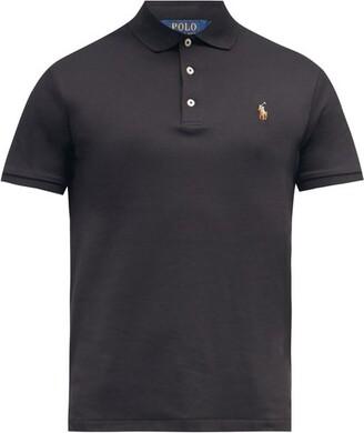 Polo Ralph Lauren Slim-fit Cotton Polo Shirt - Black
