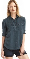 Gap Tencel® utility shirt