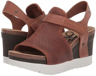 OTBT Waypoint (New Tan) Women's Wedge Shoes
