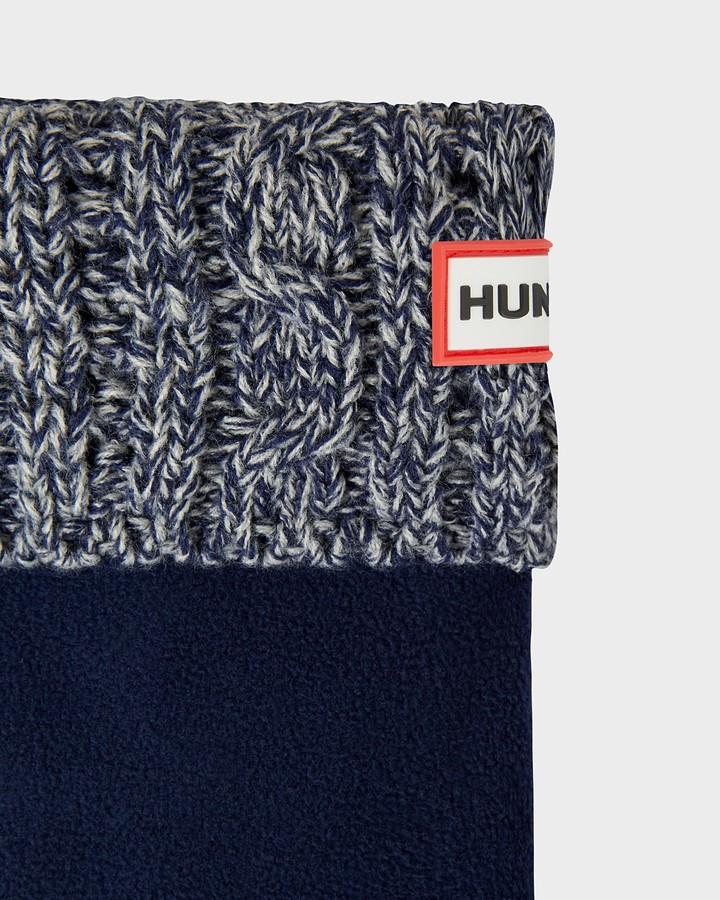 Thumbnail for your product : Hunter Original Waffle Roped Short Boot Socks