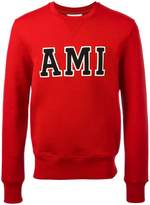 Ami Alexandre Mattiussi Ami patch sweatshirt