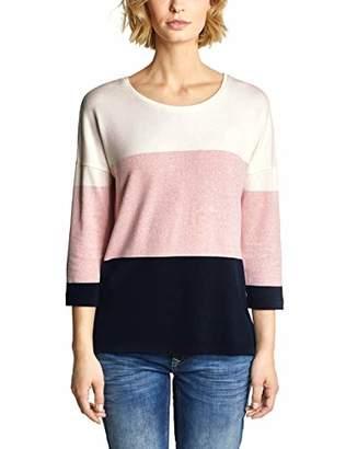 Street One Women's 313314 Melli Longsleeve T-Shirt,10 (Size:)