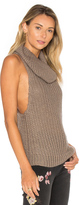 One Teaspoon Kentucky Parisienne Sleeveless Sweater