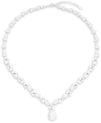 Adriana Orsini Cubic Zirconia and Sterling Silver Pendant Necklace