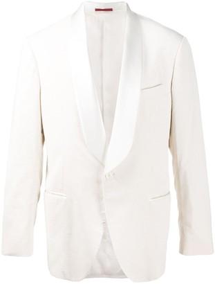 Brunello Cucinelli Twill Tuxedo Jacket