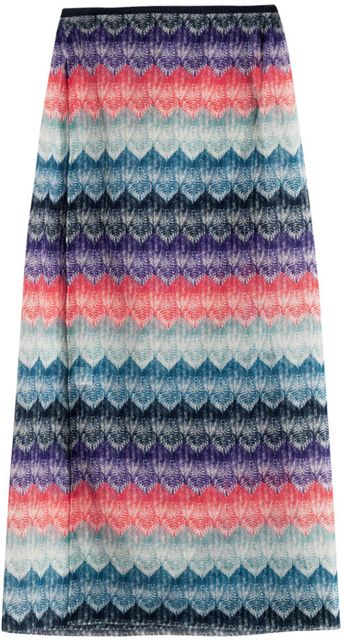 Missoni Mare Patchwork lace-print sarong