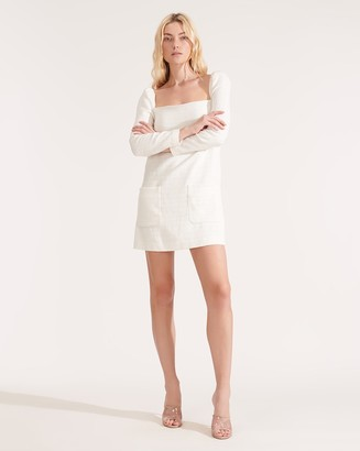 Veronica Beard Alona Soft-Tweed Dress