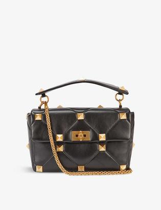 Valentino Roman Stud medium leather shoulder bag