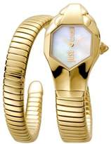 Just Cavalli Womens Gold Watch With Champagne Dial.