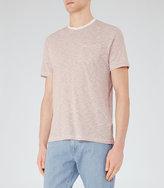 Reiss Braga Stripe Pocket T-Shirt