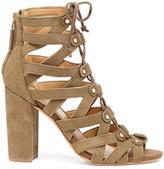 Sole Society Karli lace-up heeled sandal