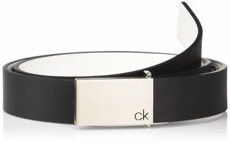 Calvin Klein Men's 30mm Textured Leather Belt