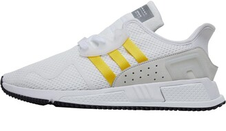 adidas EQT Cushion ADV Trainers Footwear White/Equipment Yellow/Silver Metallic