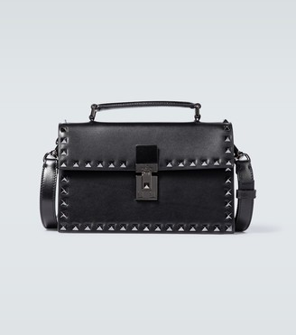 Valentino Rockstud leather box bag