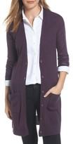Halogen Women's Rib Knit Wool Blend Cardigan