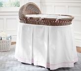 Pottery Barn Kids Harper Bassinet Bedding Set: Bumper & Crib Skirt