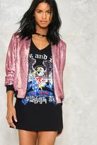 Nasty Gal nastygal The Show Must Go On Sequin Bomber Jacket