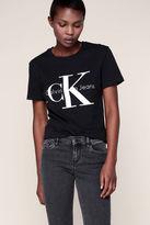 Calvin Klein T-shirt Noir Imprimé Log
