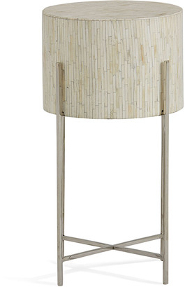 REGINA ANDREW Bone Drum Accent Table