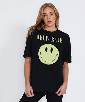Neuw Rave T-Shirt Washed Black