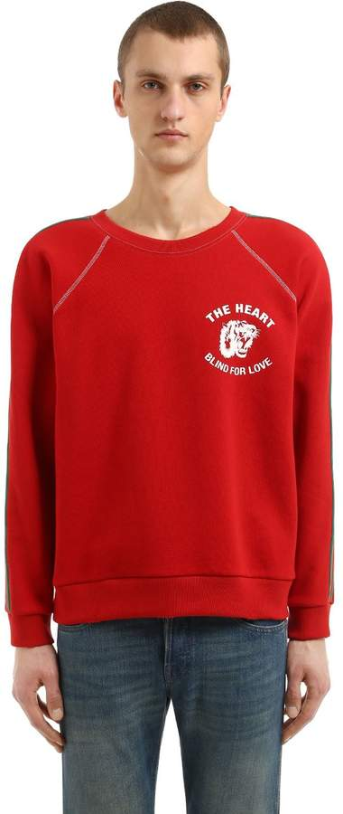 Gucci Spiritismo Patch Cotton Sweatshirt
