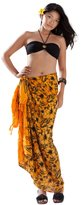 1WorldSarong 1 World Sarongs Womens Hibiscus Flower Swimsuit Cover-Up Sarong in