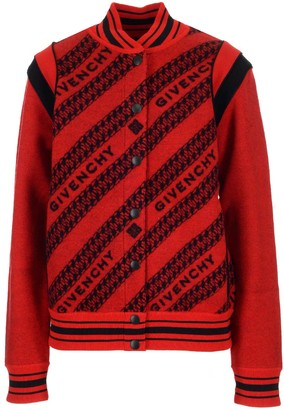 Givenchy Allover Logo Bomber Jacket