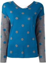Sun 68 polka dot jumper - women - Merino - M