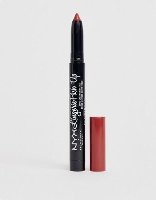 NYX Lip Lingerie Matte Red Lipstick - Exotic