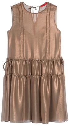 Max & Co. Trivella Silk Ruffle Dress
