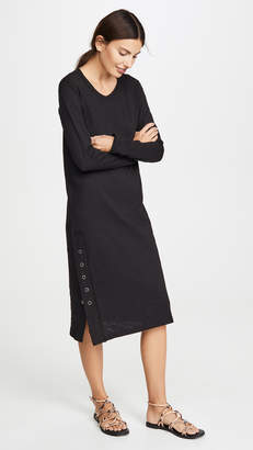 Wilt Long Sleeve Snap Side Dress